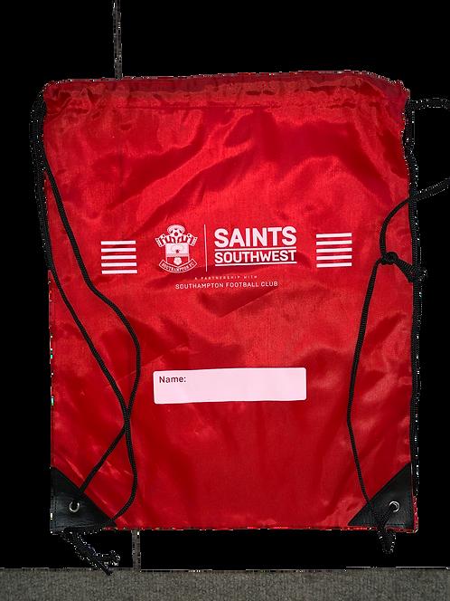 Red Saints Southwest Drawstring Bag