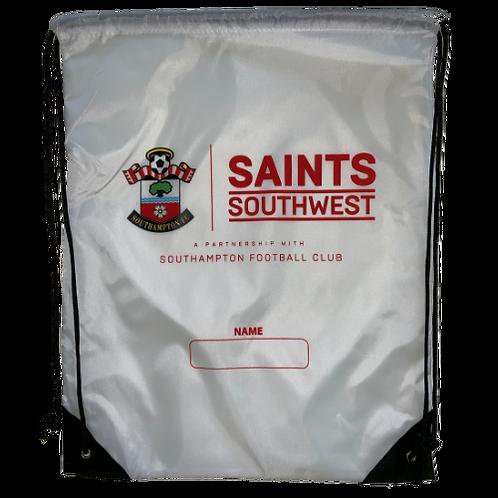 White Saints Southwest Drawstring Bag