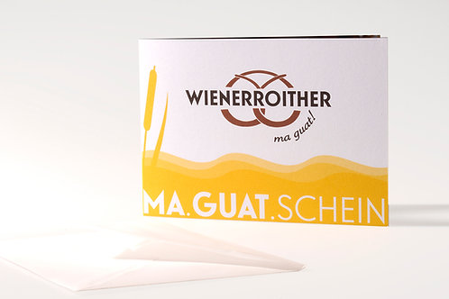 """Geschenks-Gutschein """"Frühstück"""""""