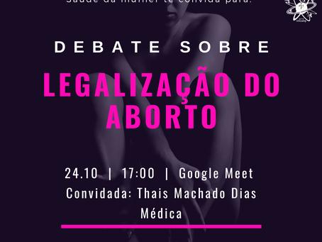 Debate: legalização do aborto