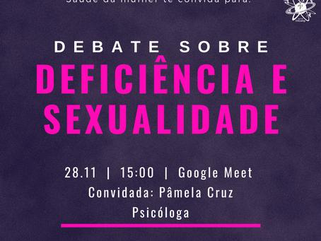 Debate: deficiência e sexualidade 28/11