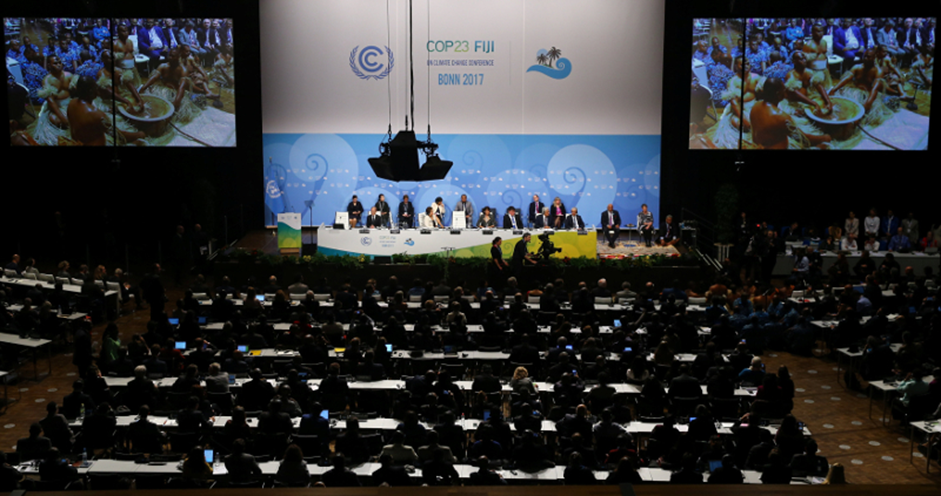 Plenary session at COP23