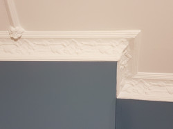 Completed cornice repair & painting