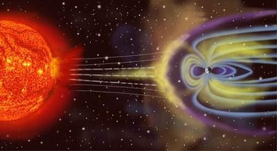 Päikselt tulevad magnettormid võivad mõjutada elektromagnetvälju tervel planeedil.