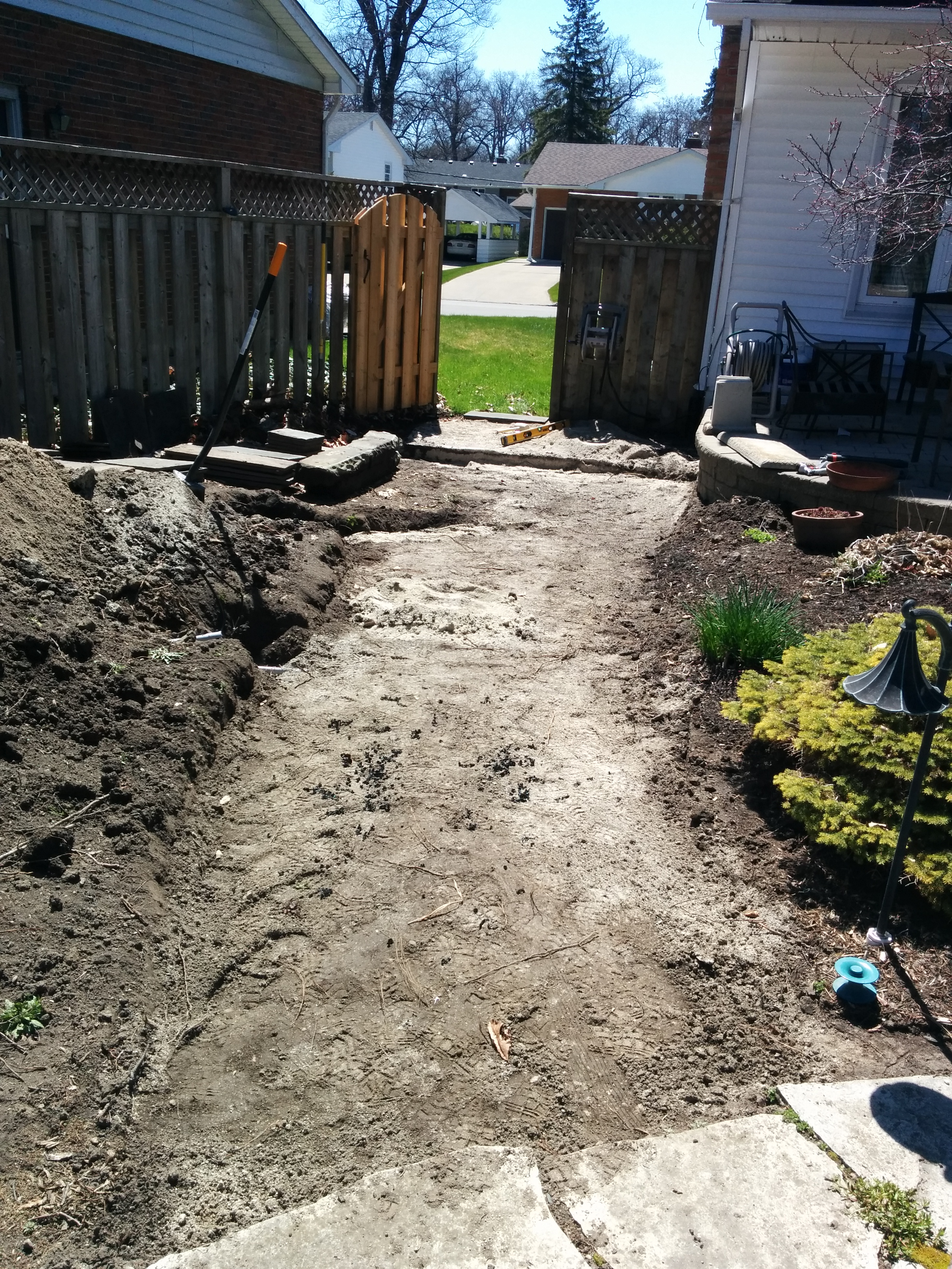 Walkway (before) 001