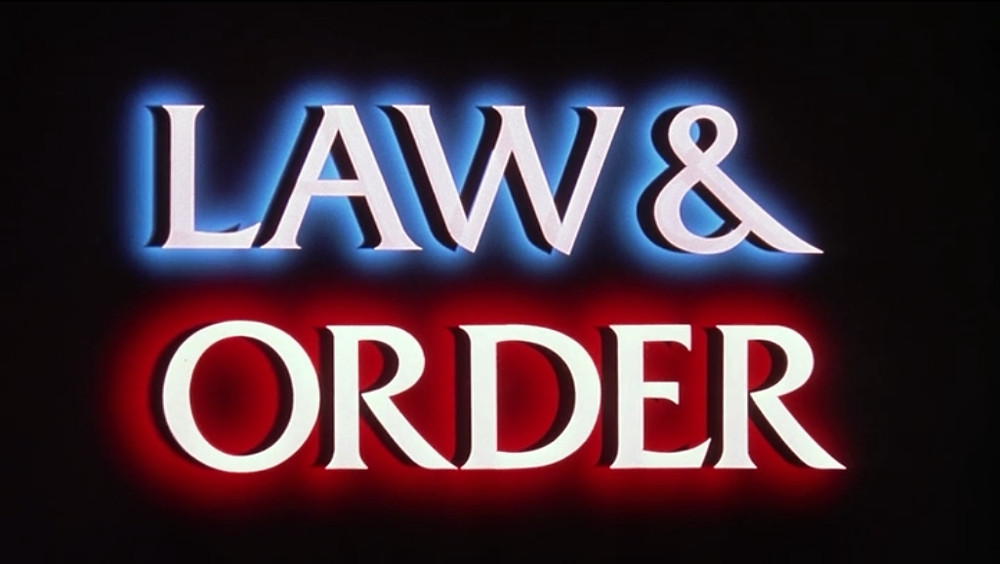 Law & Order Title Screen