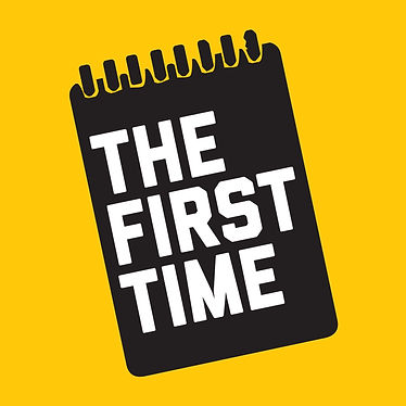 the first time podcast logo