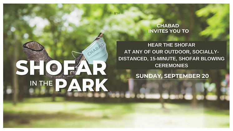 Copy of Shofar in the Park - Facebook Ev