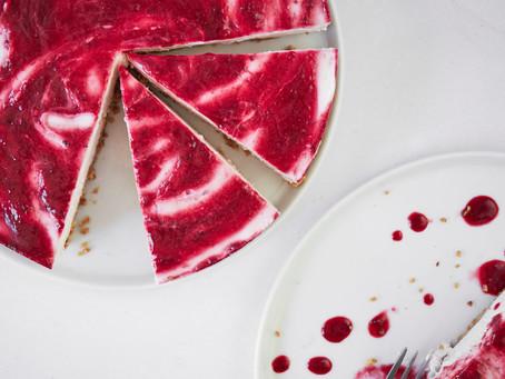 Very Berry no bake Cheesecake