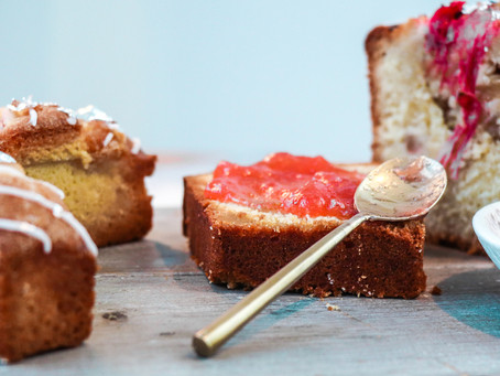 It's all about that rhubarb and ginger...