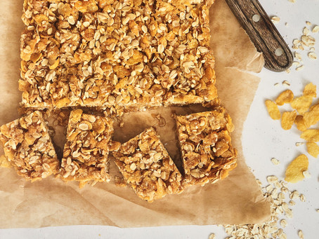 Nutty Butter Cornflake Squares