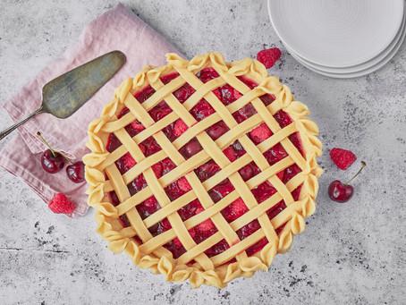 Cherry and Raspberry Pie