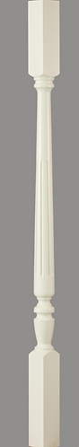 C-5201 Chippendale (Flute) Square Top