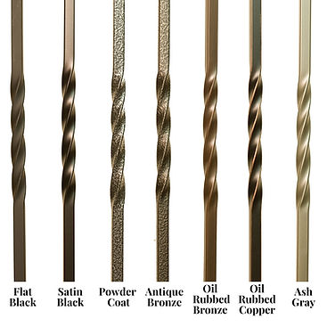 Iron Balusters Stair Parts Iron Finishes