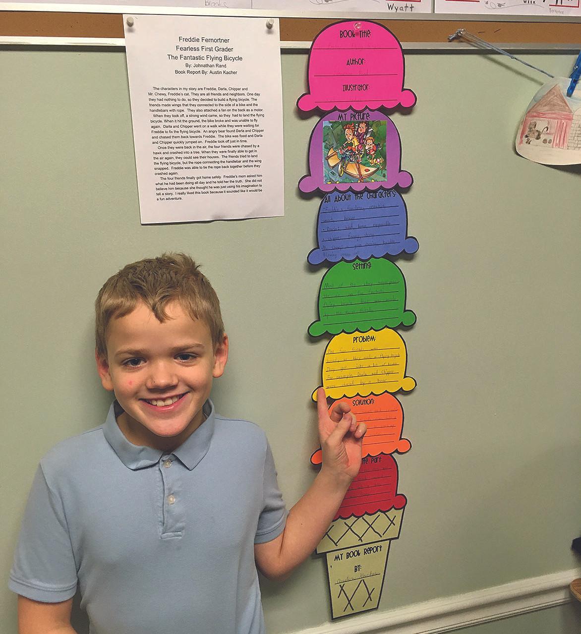 grade 3 book report III