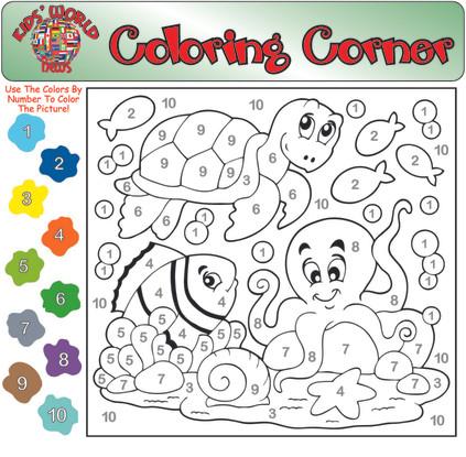 Coloring Corner