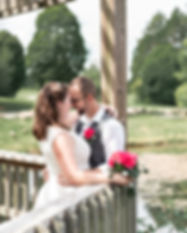 A wedding elopement portrait of Emily and Glenn's at Bernheim Forest in Shephardsville, Kentucky