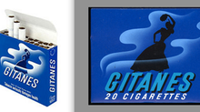 The French cigarette brand's associations with art.