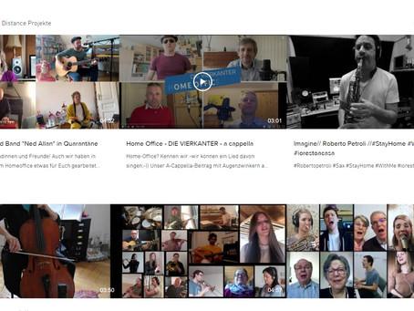Corona Music Distance Projekte