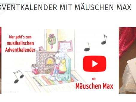 Advent mit Mäuschen Max