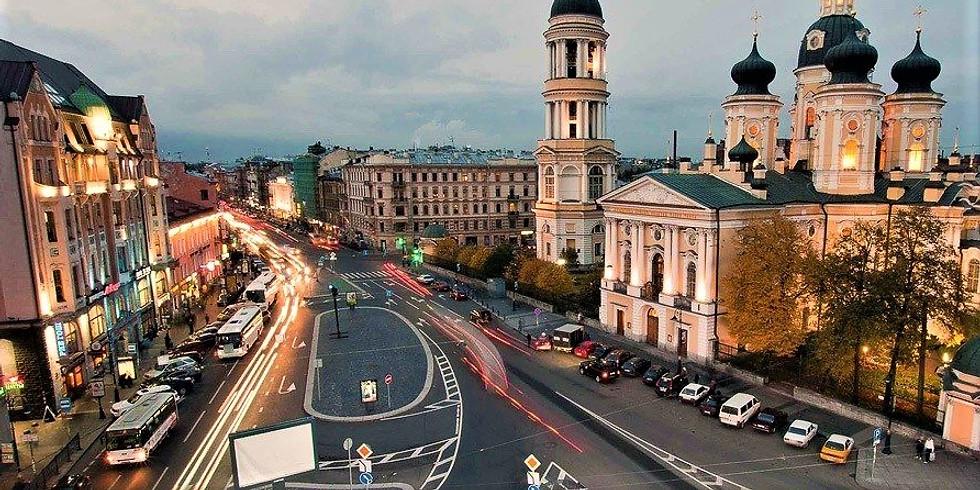 «Вокруг Владимирского проспекта: дворы, парадные, коммунальный быт»