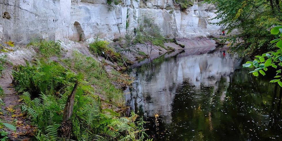 «Ящерские скалы и Среднее Полужье: каньон р. Ящеры – Толмачево – Сырец – Вычелобок – Романщина»