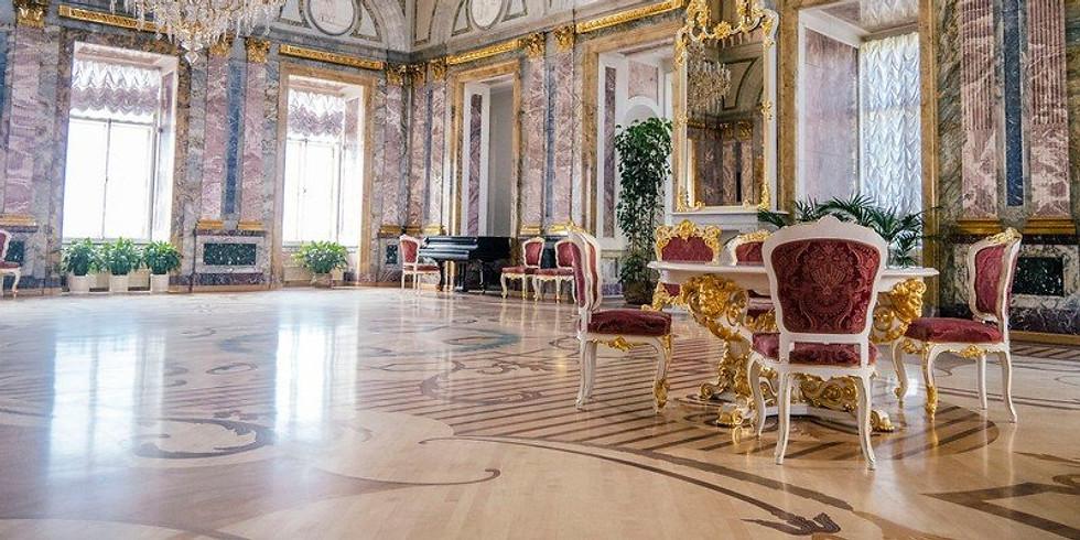 «Мраморный дворец (с посещением комнат К. Р.)»
