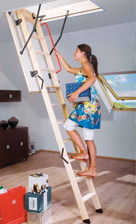 Fakro Timber Loft ladder