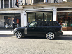 Chauffeur Hire - Shopping on Bond Street