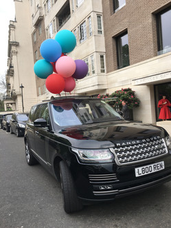Special Event Chauffeur Hire in London