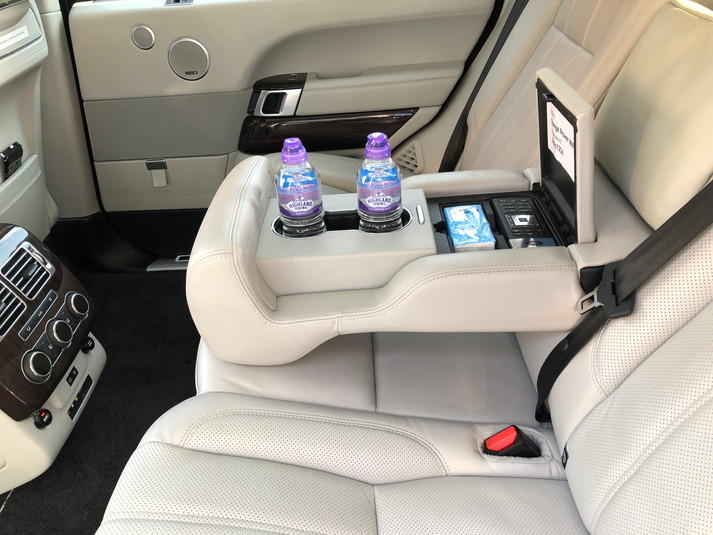 Range Rover LWB - Rear Luxury Leather  Seats