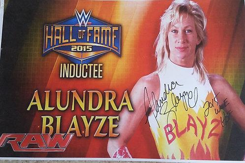 Alundra Blayze Poster