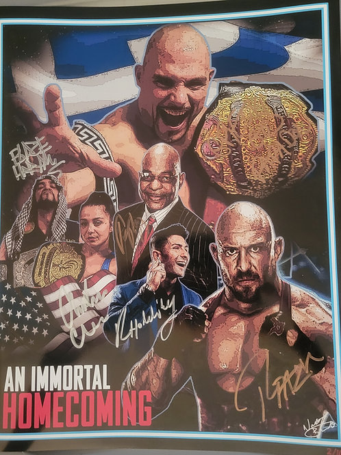 *Limited to 10* An Immortal Homecoming Signed Poster