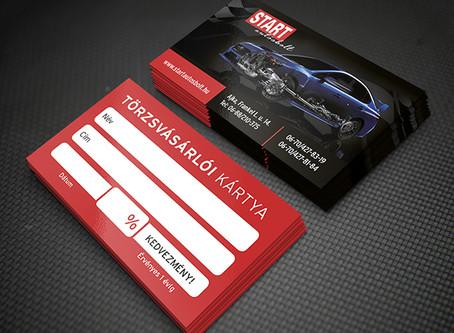 Start Autósbolt törzsvásárlói kártya