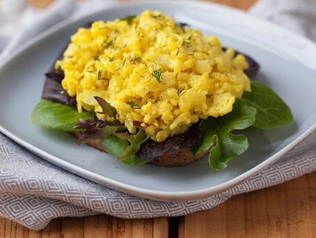 "Cauliflower ""Egg"" Salad"