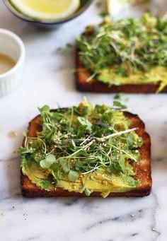 Avocado Open-Faced Toast