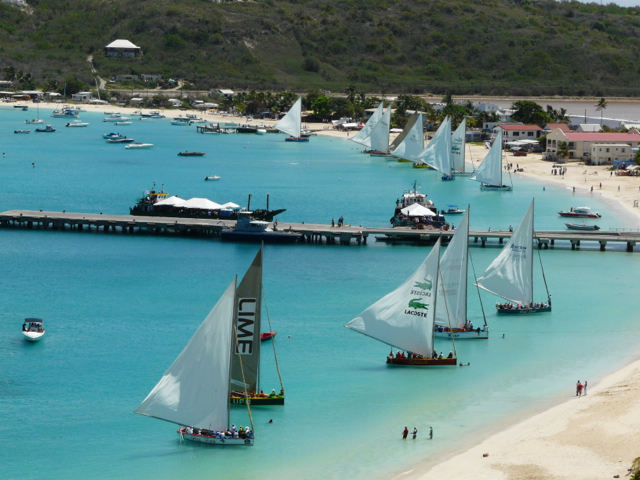 Boat race in Anguilla
