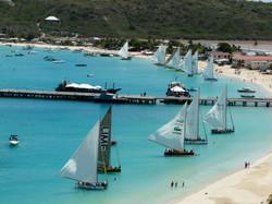 Boat race in Anguilla