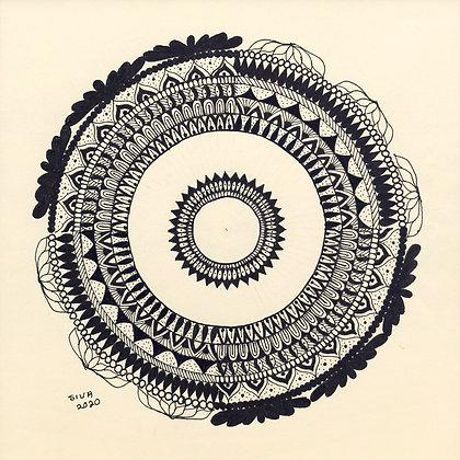 CIRCLE OF WISDOM I (2020) by Sivaneswari Sinnathamby