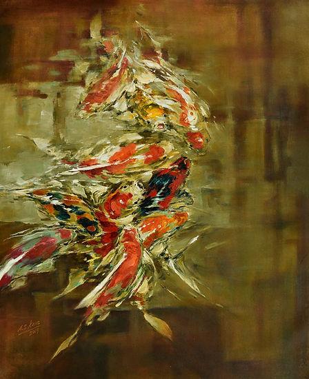 PROSPERITY 76 cm x 56 cm - A.S.Kang 江亚森.