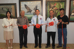 Exhibition Opening at Younie Gallery, Jalan Kuantan.
