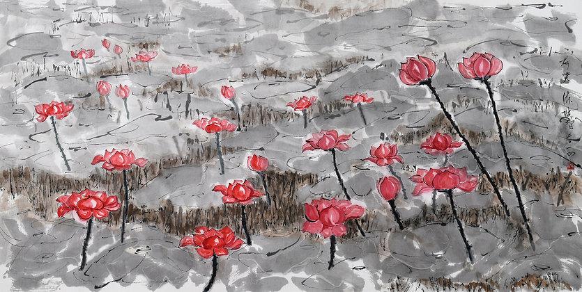 PINK LOTUS (2014) by Tan Puay Tee