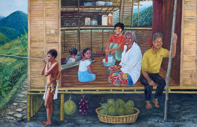 CAMERON HIGHLAND ABORIGINES(2013) by Chung Hwee Chang