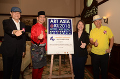 Art Asia@KL 2018 Hotel Art Expo at Palace of the Golden Horses.