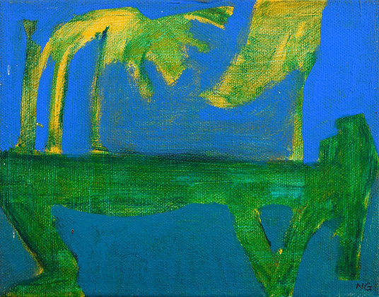 NOSTALGIC SERIES: UNDER THE PALM (2003) by Ng Hon Loong