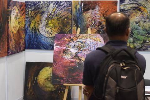 Art Asia@KL 2019 Asian Warisan Fair at MATRADE Exhibition & Convention Centre, Kuala Lumpur.