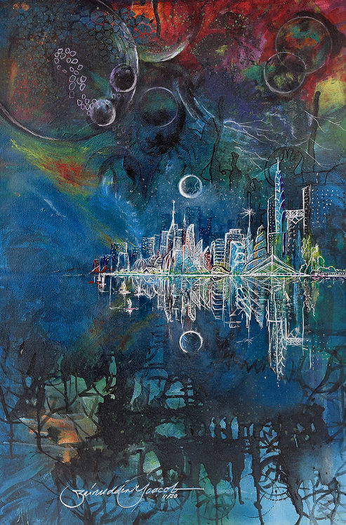 TIGA ALAM (THE THREE REALMS: LAND, SEA & SKY) (2020) by Zainuddin Yaacob