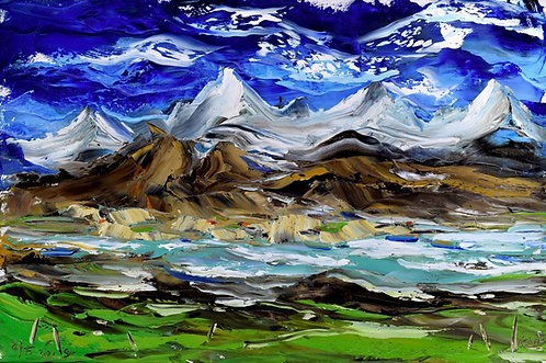 MOUNTAIN LANDSCAPE 2 (2019) by Koh Teng Huat 古天发