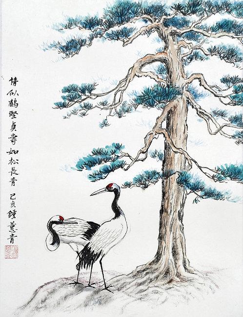 CRANES 情似鹤坚贞 (2019) by Chung Hwee Chang 钟蕙青