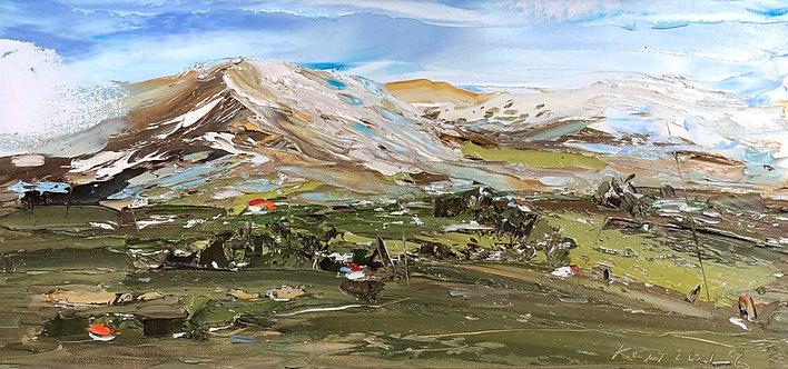 SCENIC MOUNTAIN LANDSCAPE (2018) by Koh Teng Huat